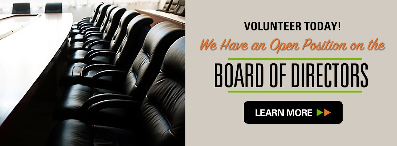 Board of Directors Position Open